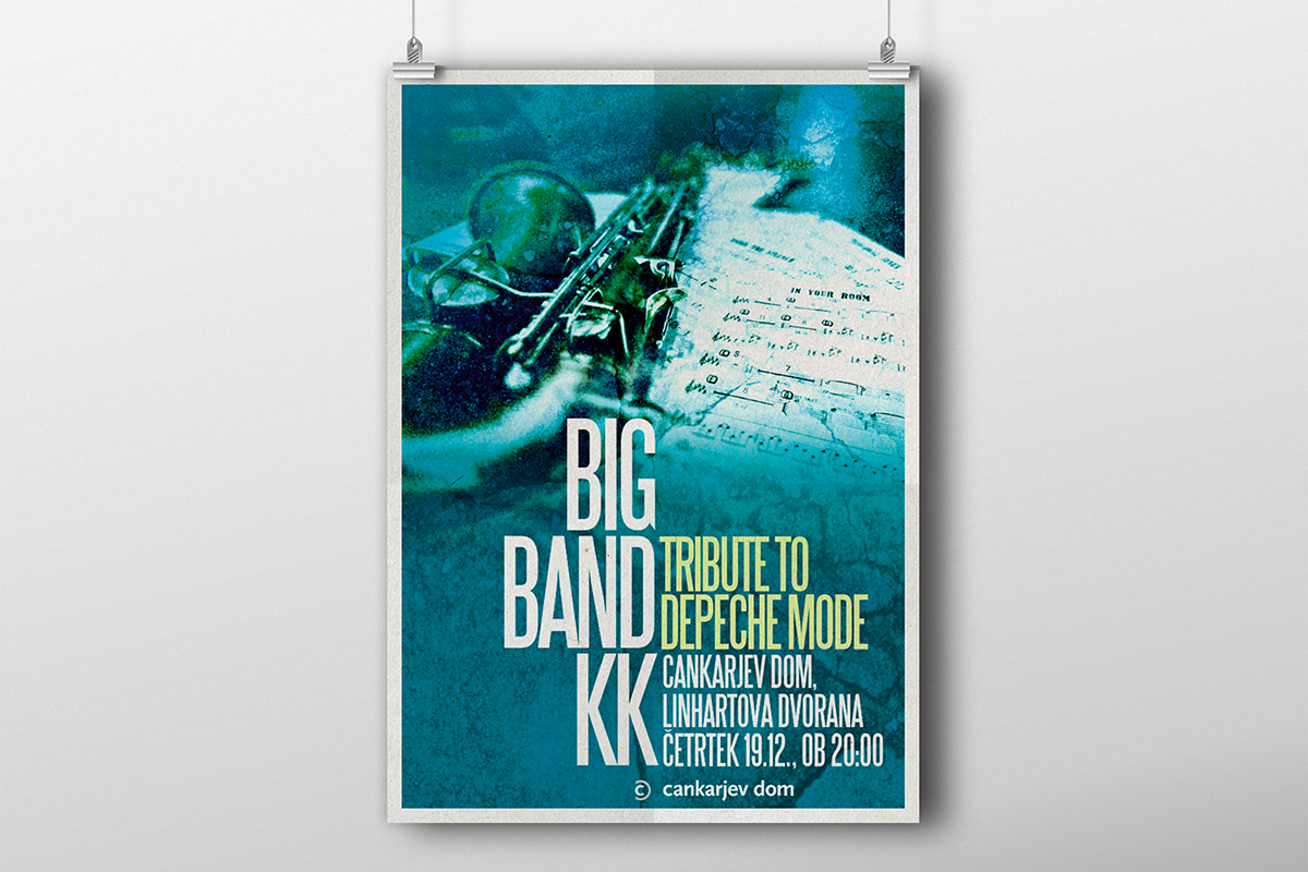 Big band KK - Plakat