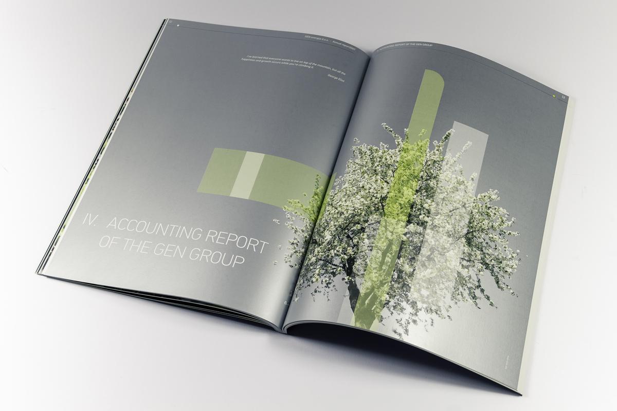 Gen energija - letno poročilo