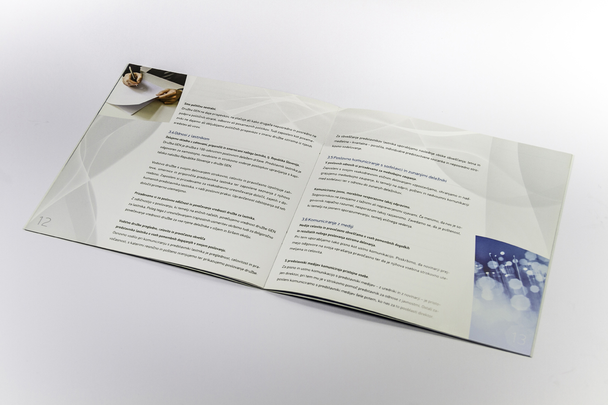 Gen energija - poslovna brošura