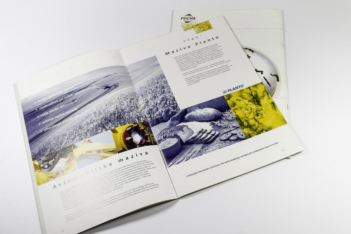 FUCHS maziva - katalog
