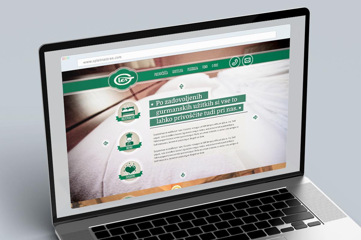 Les - Dizajn spletne strani