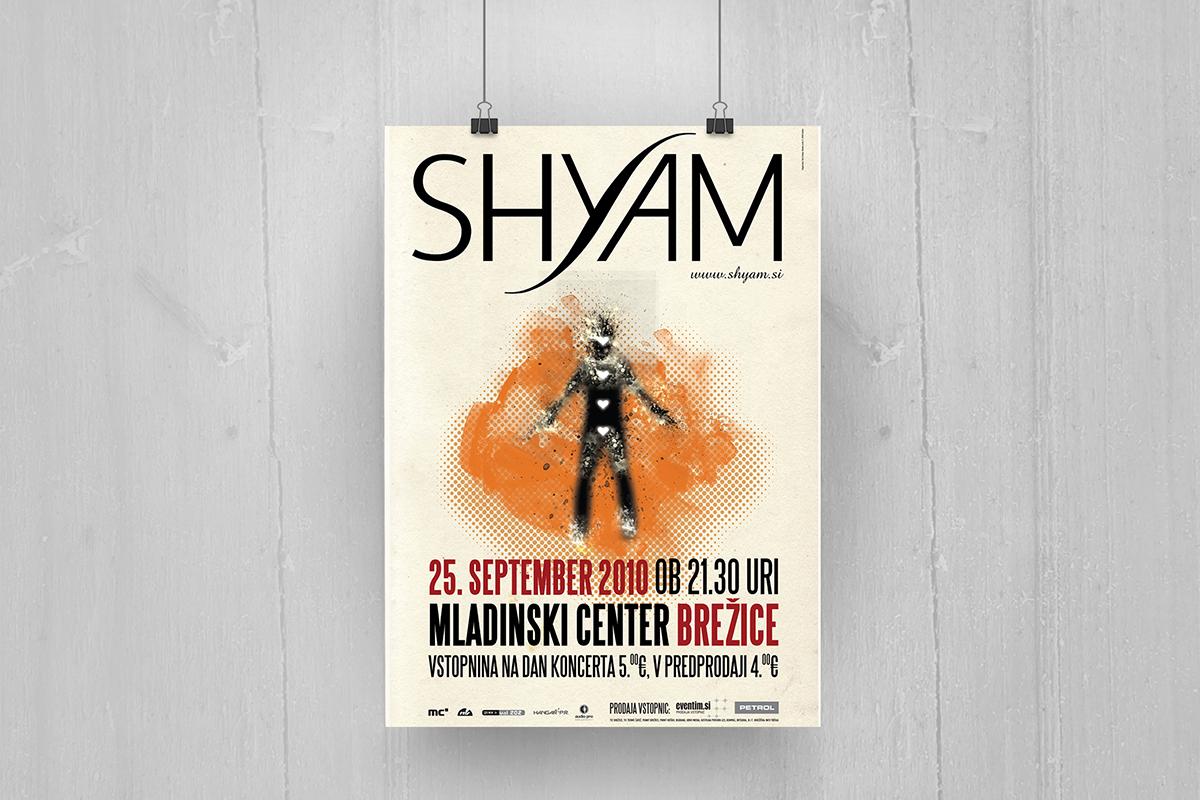 Shyam - Plakat